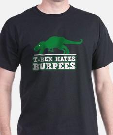 trex_hates_burpees_tshirt