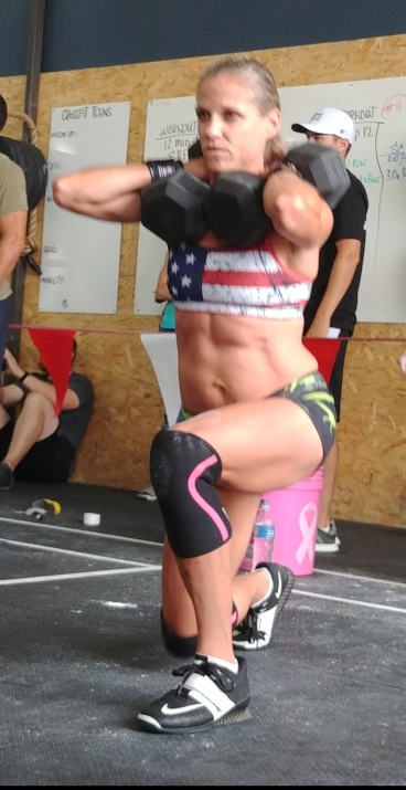 CrossFit Dumbbell Lunges