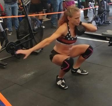 CrossFit One Arm Front Squat
