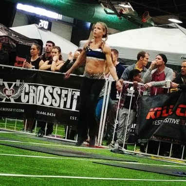 CrossFit Babes double unders Crossfit Competition
