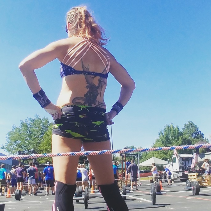 hot crossfit chick crossfit competition fort collins colorado