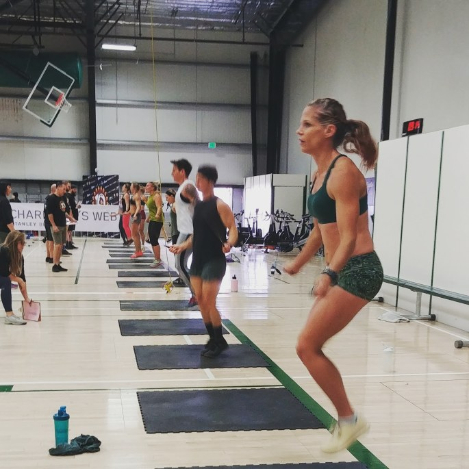 Double Unders CrossFit Competition Turkey Challenge crossfitmomm.com
