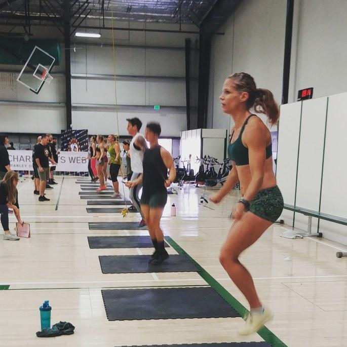 Double Unders CrossFit Competition Turkey Challenge crossfitmomm.com