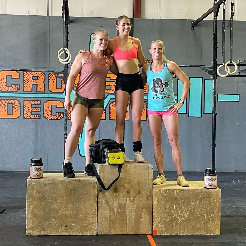 crossfit competition at crossfit decimate colorado springs